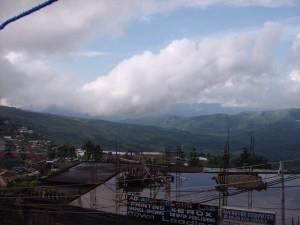 Sky Over Mokokchung