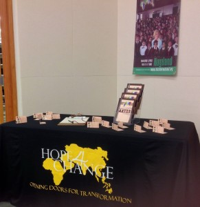 Our H4C Display Table