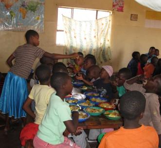 Children in Sakila, Tanzania