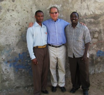 Director James Smith in Tanzania