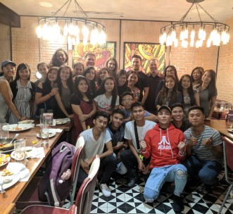 2017/18 H4C sponsored college students with Frontrow executives Sam Verzosa and RS Francisco
