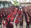 Students at sponsored Nagaland School